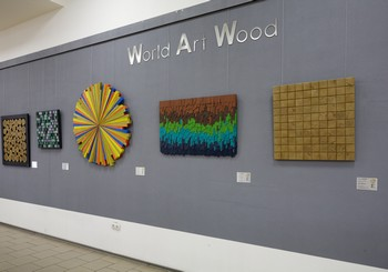 Открытие выставки World Art Wood