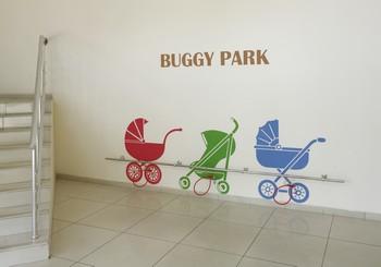 """Открытие парковки для детских колясок """"Buggy Park"""""""